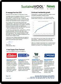 SustainaWOOL Newsletter September 2020