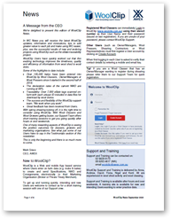 Wool Clip Newsletter September 2020